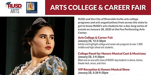 RUSD Arts College & Career Fair