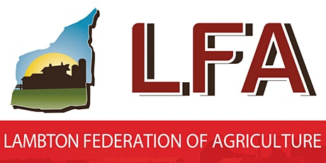Lambton Federation of Agriculture Annual General Meeting tickets