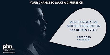 South Western Sydney PHN Men's Proactive Suicide Prevention Co-Design - Southern Highlands tickets