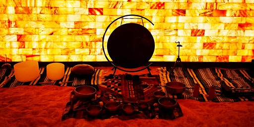 Halotherapy Sound Meditation (Salt Room) with Natalie Brown