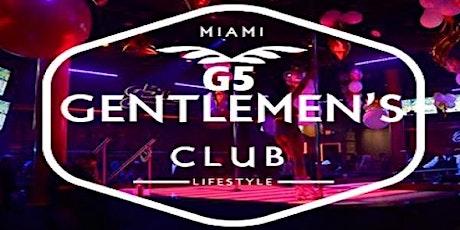 MIAMI 2020 G5 GENTLEMEN'S CLUB  tickets