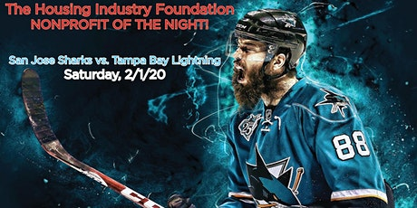 Join HIF for San Jose Sharks vs. Tampa Bay Lightning on February 1st, 2020! tickets