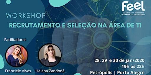 Workshop | Recrutamento e Seleção na área de TI - Turma especial de VERÃO