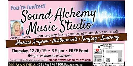 Sound Alchemy Music Studio: Musical Improv • Instruments • Chanting • Singing