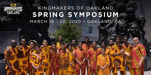 Spring Symposium| March 18-20, 2020| Oakland, CA