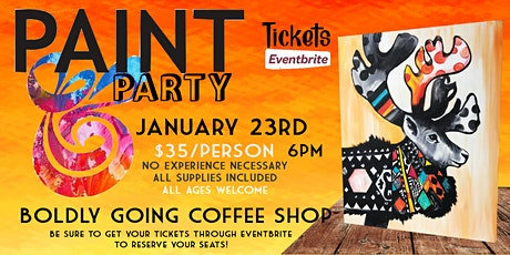 Sweater Weather at Boldly Going Coffee tickets
