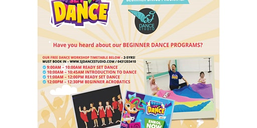 SJ Beginners Free Dance Workshop