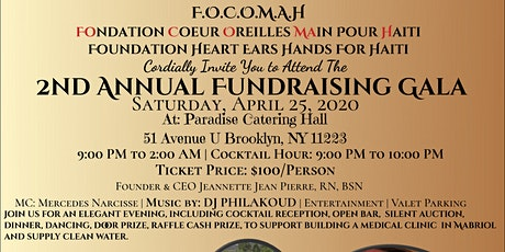 2nd ANNUAL FUNDRAISING GALA tickets