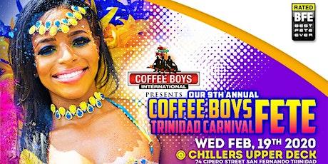Coffee Boys Trinidad Carnival Fete tickets