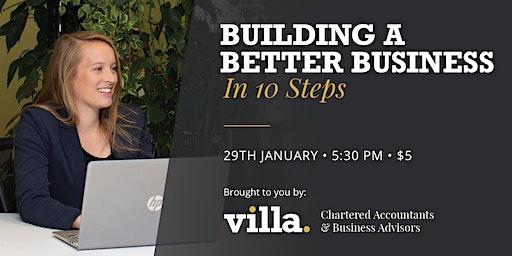 Building A Better Business Event