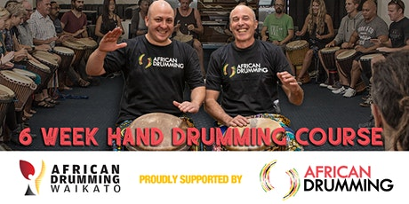 Tauranga 6 week African Hand Drumming Course tickets