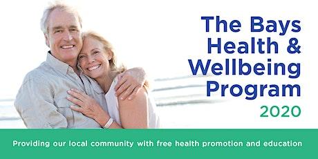 The Bays Health & Wellbeing Program - Skin Cancer Awareness & Sun Safety tickets