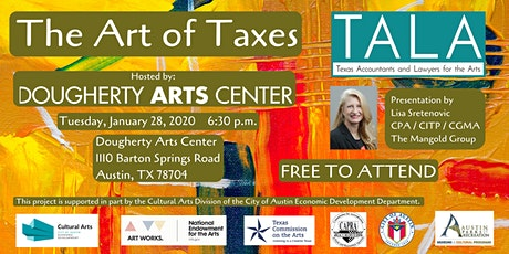 The Art of Taxes - Austin tickets