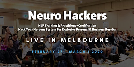 Neuro Hackers - NLP Training & Practitioner Certification tickets