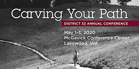 Carving Your Path!  D32 Annual Conference (Tacoma Area, WA) tickets