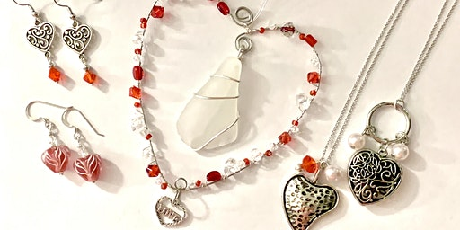 Valentines Day Jewelry and Ornament Workshop