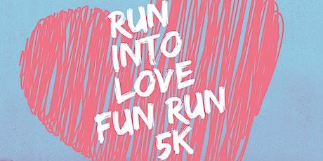 Run Into Love 5k Fun Run tickets