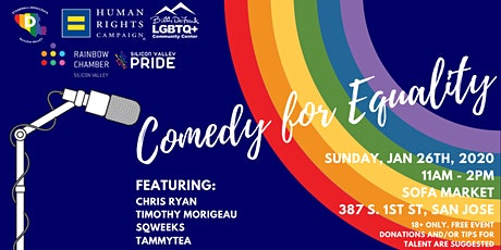 Comedy for Equality tickets