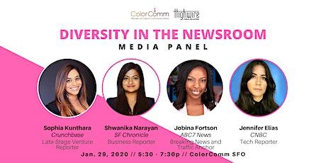 Diversity in the Newsroom Media Panel tickets