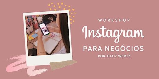 Workshop: Instagram para negócios