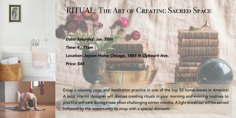 Ritual: The Art of Creating Sacred Space tickets