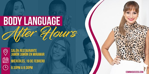 Body Language After Hours Let's Talk!