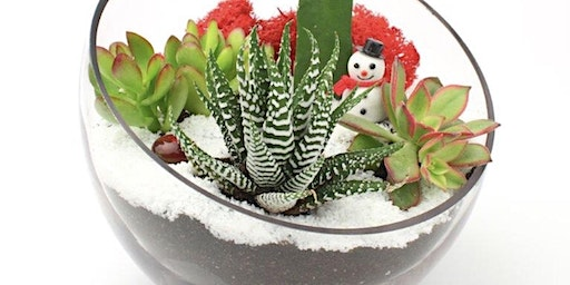 Winter Wonderland Terrarium Workshop at True Food Kitchen King of Prussia