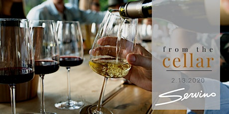 from the cellar: February wine dinner tickets