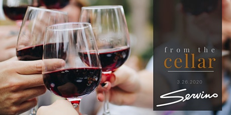 from the cellar: March wine dinner tickets