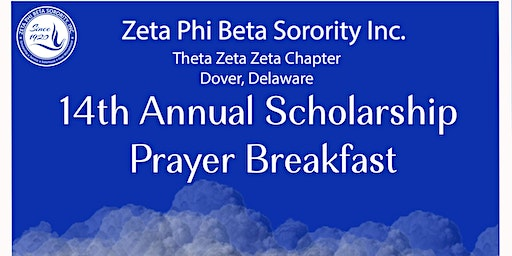 Theta Zeta Zeta's 14th Annual Prayer Breakfast
