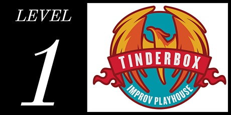 Level 1 Class - Tinderbox Improv Playhouse (Wednesdays at 7:30pm | 6 classes: Feb 5 - Mar 18, 2020) tickets