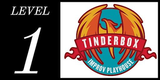 Level 1 Class - Tinderbox Improv Playhouse (Wednesdays at 7:30pm | 6 classes: Feb 5 - Mar 18, 2020)