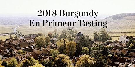 2018 Burgundy En Primeur Tasting tickets