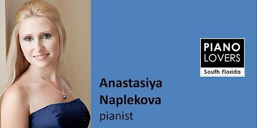 Naplekova plays Schubert, Brahms and Rachmaninoff