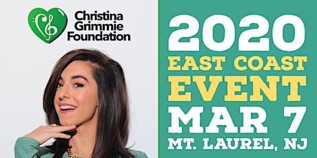 Christina Grimmie Foundation 2020 East Coast Event tickets