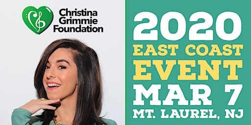 Christina Grimmie Foundation 2020 East Coast Event