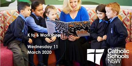 K to 6 Workshop Wednesday  11 March 2020 tickets