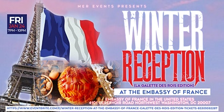 Winter Reception At The Embassy of France [La Galette des Rois EDITION] tickets