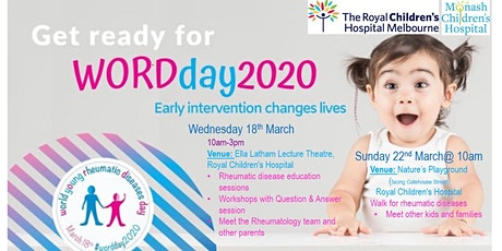WOrld  young Rheumatic Diseases Day ( WORD Day) 2020 tickets