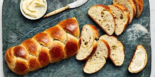 Bake Honey Oat Braid Bread Rolls