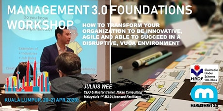 MANAGEMENT 3.0 FOUNDATIONS (Two-Day) WORKSHOP tickets