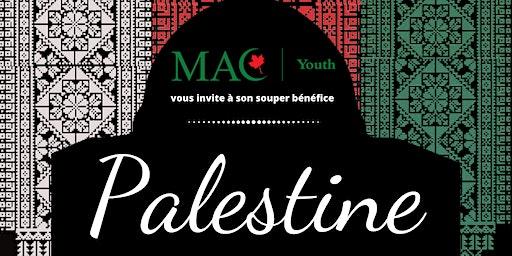 Souper bénéfice en l'honneur de la Palestine