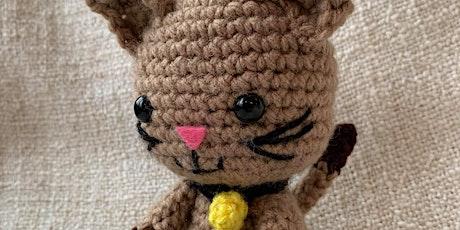 Cute Cat Crochet Workshop tickets