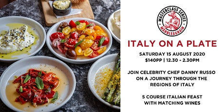 Italy on a Plate with Celebrity Chef Danny Russo tickets