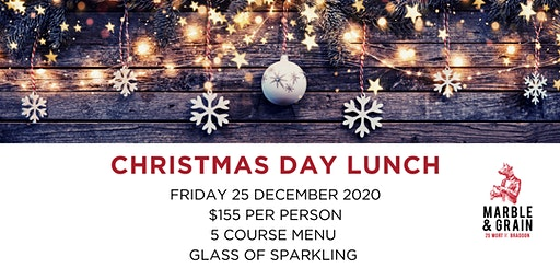 Christmas Day Lunch at Marble & Grain