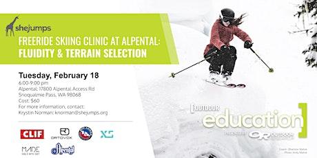 WA SheJumps Freeride Clinic at Alpental: Fluidity & Terrain tickets
