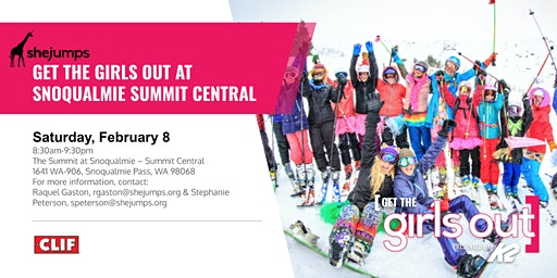 WA SheJumps GTGO at The Summit at Snoqualmie – Summit Central
