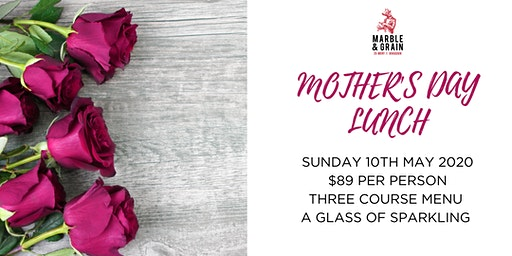 Mother's Day Lunch at Marble & Grain