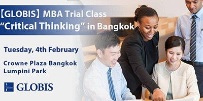 2020/02/04 Critical Thinking MBA Trial Class in