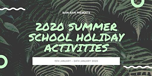 Baw Baw Summer School Holiday Activities - Teen Bootcamp